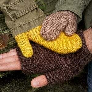 Tin Can Knits Maize Mitts Kit