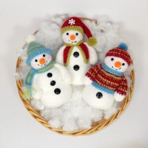 Frosty Freezy Fred Crochet Kit