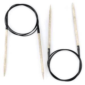 """Lykke 9""""Circular knitting needles Driftwood"""